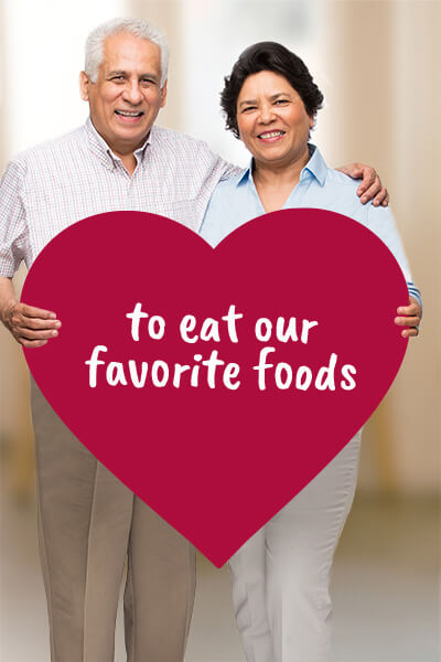 Eat our Favorite Foods